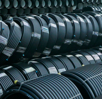 Polyethylene pipes for cold water Jakko